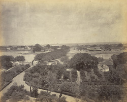 Bhownagar from the Moti Bagh.